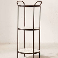 Charity Tiered Side Table | Urban Outfitters