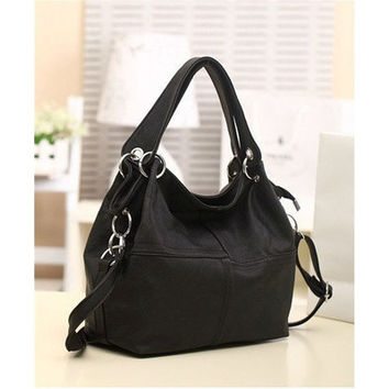 Lady's Fashion Leather Handbag [10198252935]