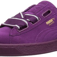 PUMA Women's Suede Heart Satin Wn Sneaker