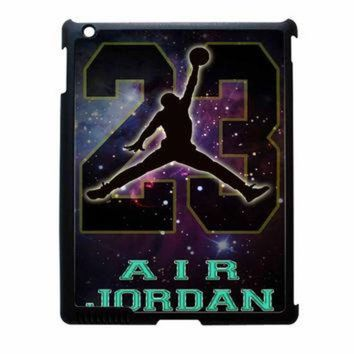 LMFUG7 Nike Air Jordan Galaxy Nebula Star iPad 2 Case