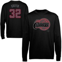 Majestic Blake Griffin Los Angeles Clippers Color Pop Long Sleeve T-Shirt - Black