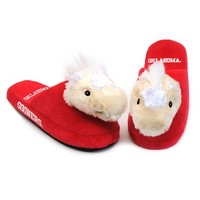 Oklahoma Sooners Slippers - Youth (Red)