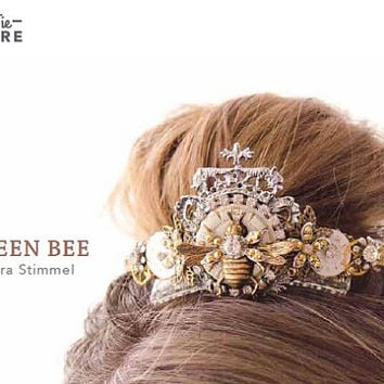 Queen Bee Steampunk Crown - Featured in Jewelry Affaire Spring 2015