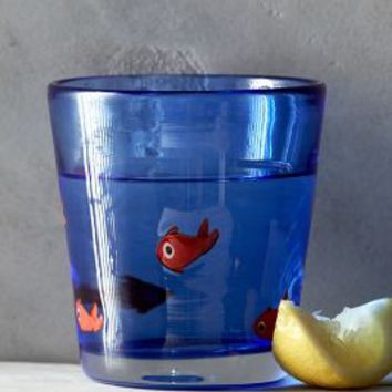 Goldfish Lake Glass by Anthropologie Sky One Size House & Home