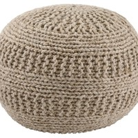 Benedict Pouf - Natural or Charcoal