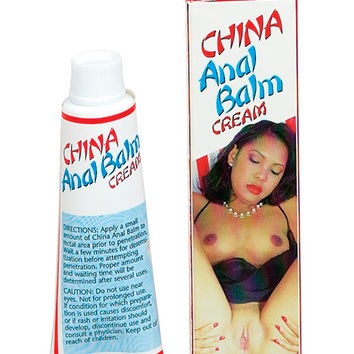 China Anal Balm Cream Soft Packaging - .5 Oz