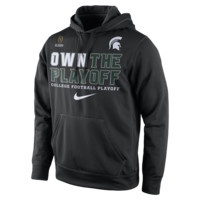 "Nike College ""Own The Playoff"" KO (Michigan State) Men's Performance Hoodie"