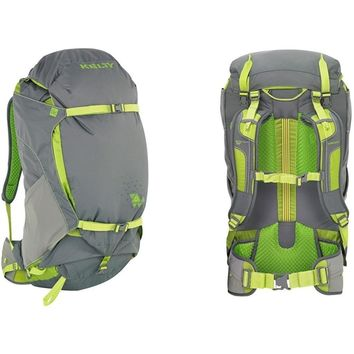 Kelty PK 50 Internal Frame Trail Hiking Camping Backpack M/L Grey/Citron NEW-1 Each