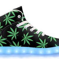 OG Weed - APP Controlled High Top LED Shoes