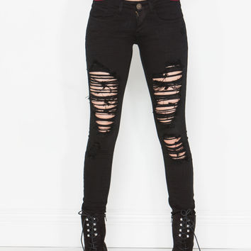 Shred Of Evidence Skinny Jeans