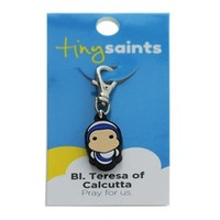 Bl. Teresa of Calcutta Tiny Saints Charm, Baby and Children , Confirmation Gifts at The Catholic Company