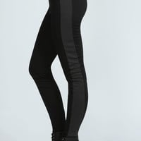 Lennie Contrast Panel Ponte Treggings