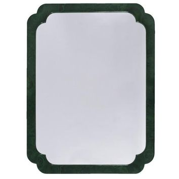 Amelia Mirror in Malachite