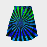 Electromagnetic Abstraction Flare Skirt