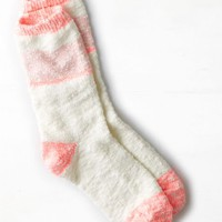 AEO Women's Striped Rag Crew Sock