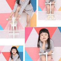 5*6.5ft Colorful Triangle Baby Photography Backdrop Digital Printed Background for Children Photos, Background Backdrop Props CM-6659