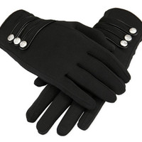 Papillon Gloves - Black