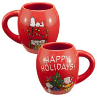 Charlie Brown Christmas Holiday Ceramic Mug