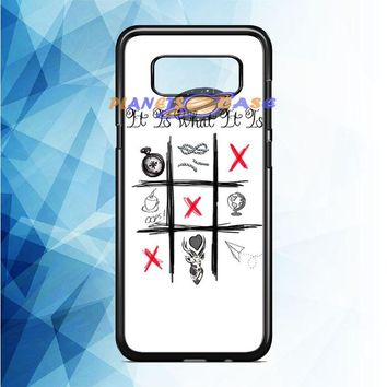 One Direction Louis Tomlinson Tattoos Samsung Galaxy Note 8 Case Planetscase.com