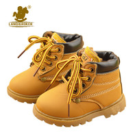 New Kids Children Snow Boots Shoes for Girls Boys Fashion Soft Bottom Baby Boot 21-30 Autumn Winter Child Boots Toddler Shoe