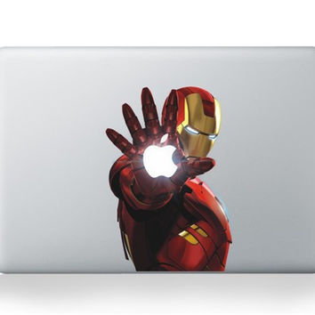 Laptop Skin for Macbook Pro 11 13 15 17 Super Hero Iron Man Vinyl Laptop Sticker For Macbook Air 13 Sticker PVC Decal Cover