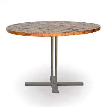 Urban Pedestal Dining Table Round