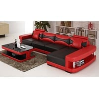 Luxury Modern Trieste  L shape sectional sofa
