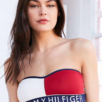 Tommy Hilfiger Seamless Bandeau Bra | Urban Outfitters