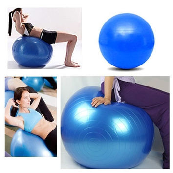 85CM Body Aerobics Pilates Yoga Ball Exercise Home Gym Swiss Fitness Ball With One Free Pump #mgsu.inc.# = 1932738052