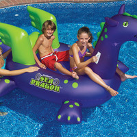 Swimline Sea Dragon Ride On Pool Float