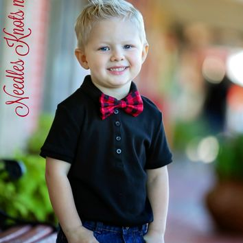 Buffalo Plaid Bow Tie, Baby Boys, Boys, Mens Bowties, Plaid Bow Tie