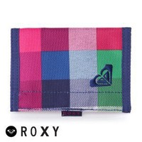 Roxy Small Beach Wallet - Fancy Plaid