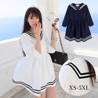 XS-5XL Let's go to Greece Sailor Dress SP140551