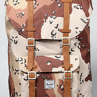 The Little America Backpack in Desert Camo