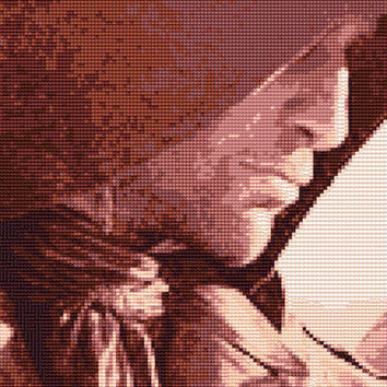 Arno Dorian Assassins Creed Unity Cross Stitch Pattern