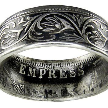 India One Rupee Coin Ring