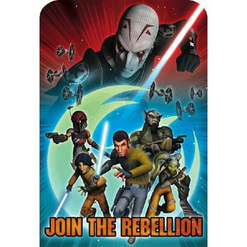 Star Wars Rebels Invitations [8 per Pack]
