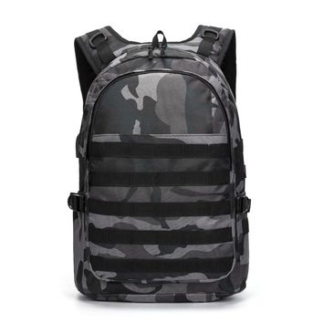 Army Gray Casual Backpack
