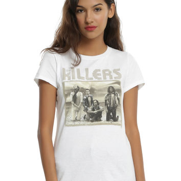 The Killers Band Photo Girls T-Shirt
