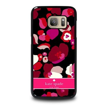 KATE SPADE NEW YORK FLORAL Samsung Galaxy S7 Case Cover