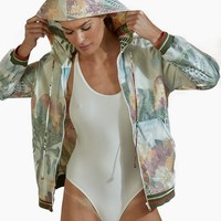 Chiffon Jacket - Beach House Print