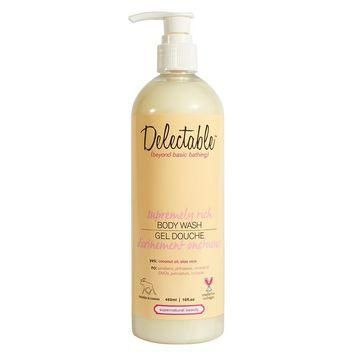 Delectable Supremely Rich Body Wash - Natural Bath Products