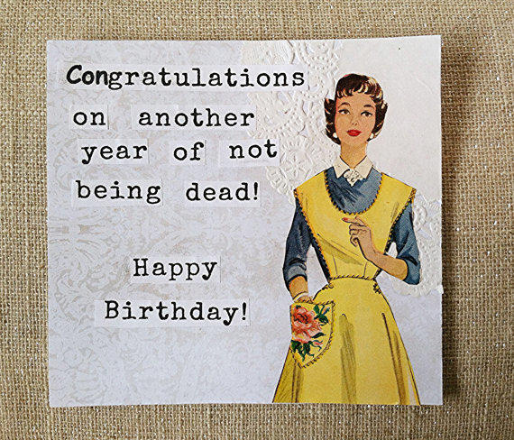 best happy birthday vintage cards products on wanelo, Birthday card