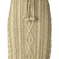 Moschino Vintage knitted sheath skirt