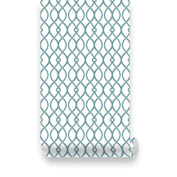 Trellis Peel & Stick Fabric WallPaper