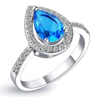 Accessories Silver Gemstone Ring = 5839611521