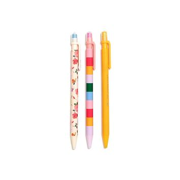 BAN.DO WRITE ON MECHANICAL PENCIL SET - COMING UP ROSES