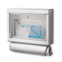 envelope mailbox - a modern, contemporary mailbox from chiasso