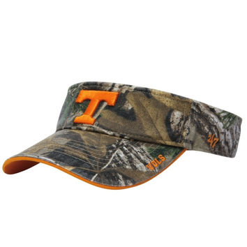 Tennessee Volunteers '47 Brand Ice Adjustable Visor – Realtree Camo