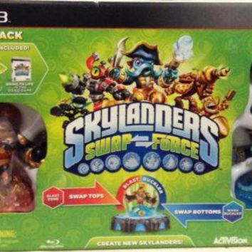 PS3 Skylanders Swap Force swap force Starter Pack Sony PlayStation 3 game